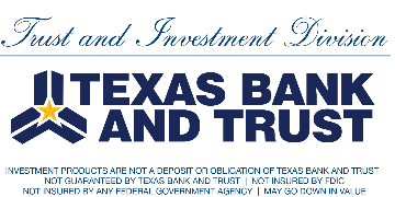 Texas Bank and Trust logo