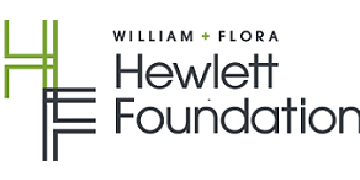 The William and Flora Hewlett Foundation logo